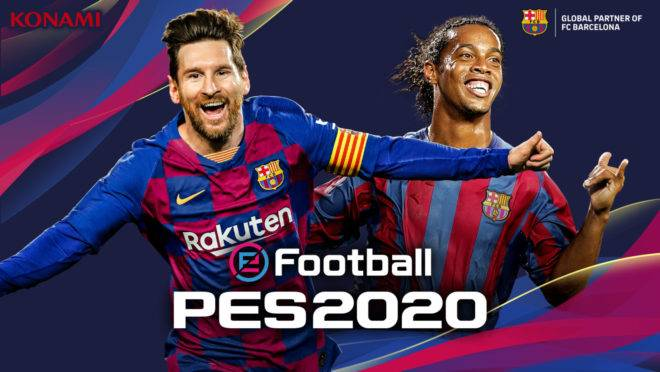 Messi estampará a capa do PES 2020