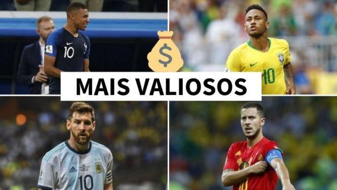 Jogadores mais valiosos do futebol mundial