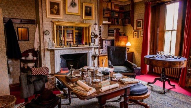 Estúdio de Charles Darwin na Down House