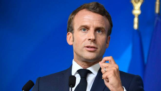 O presidente francês, Emmanuel Macron.