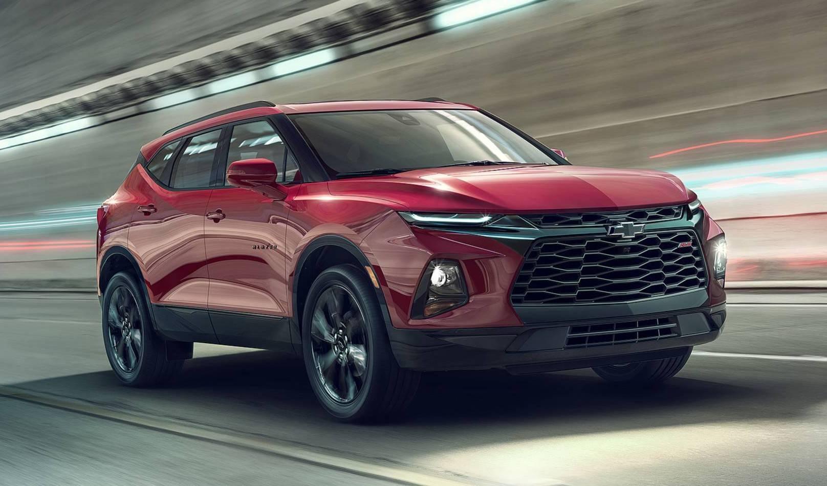 Nova geração da Blazer lançada nos EUA. Foto: Chevrolet/ Divulgação