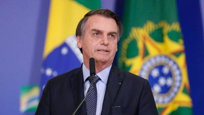 Bolsonaro fez declaração na semana passada