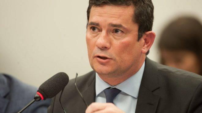 O ministro Sergio Moro debate prisão em segunda instância na CCJ do Senado.