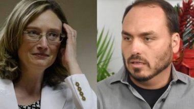 Para Maria do Rosário, suicídio de empresário é culpa do governo. Para Carlos Bolsonaro, tragédia se resume a uma falha na segurança.