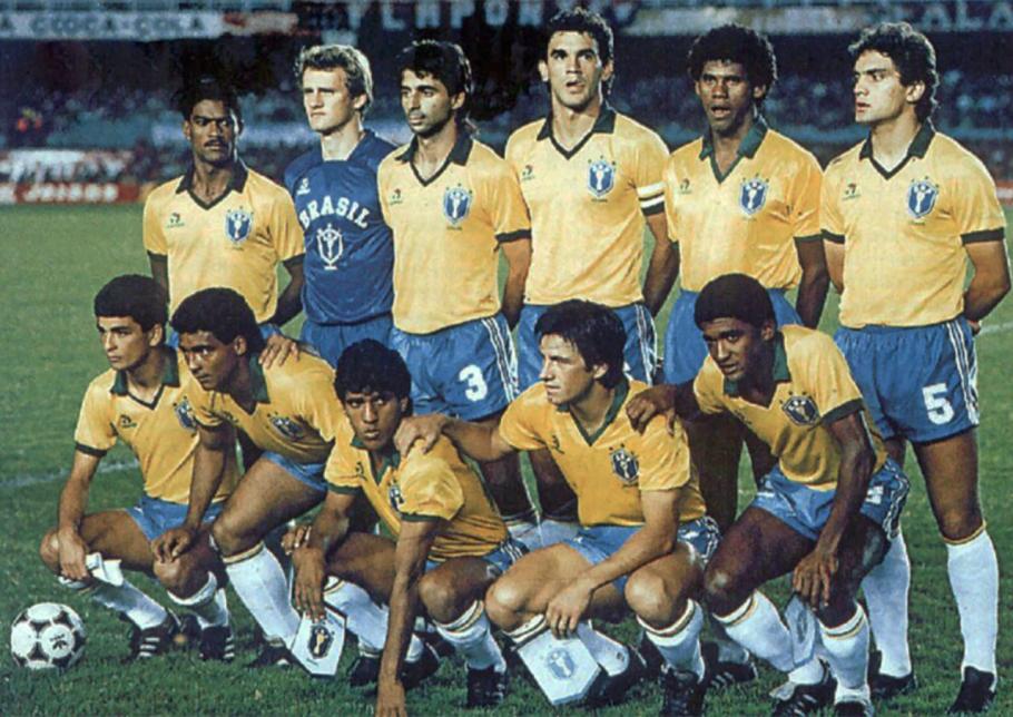 Seleção foi campeã da Copa América de 1989 despachando Argentina e Uruguai