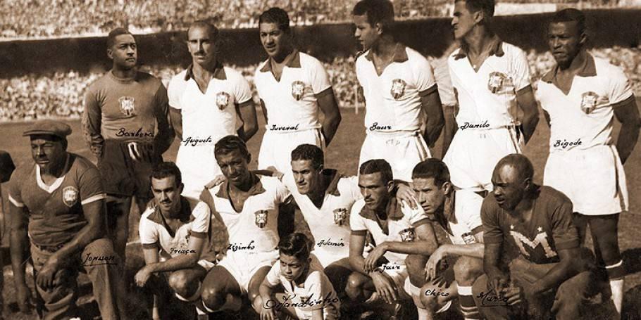 Maior derrota da seleção no Maracanã, na final da Copa de 1950