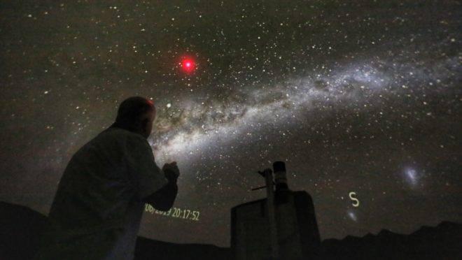 Observação no Parque da Ciência