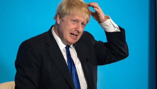 Boris Johnson, membro do Partido Conservador, em evento do seu partido em 6 de julho, em Nottingham, Inglaterra
