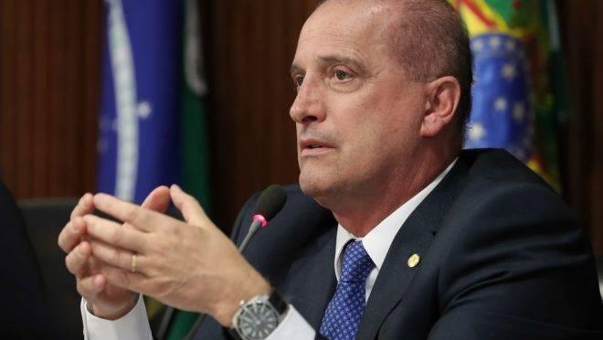 Ministro da Casa Civil da Presidência da República, Onyx Lorenzoni.