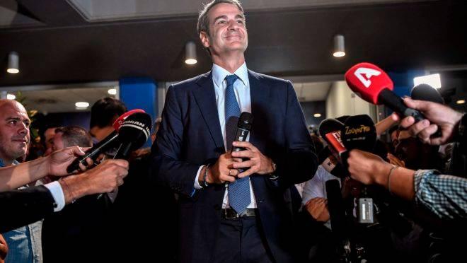 Kyriakos Mitsotakis, primeiro ministro eleito da Grécia.
