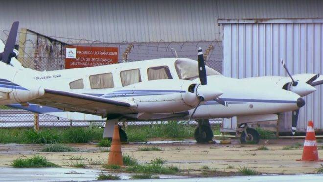 aviões funai