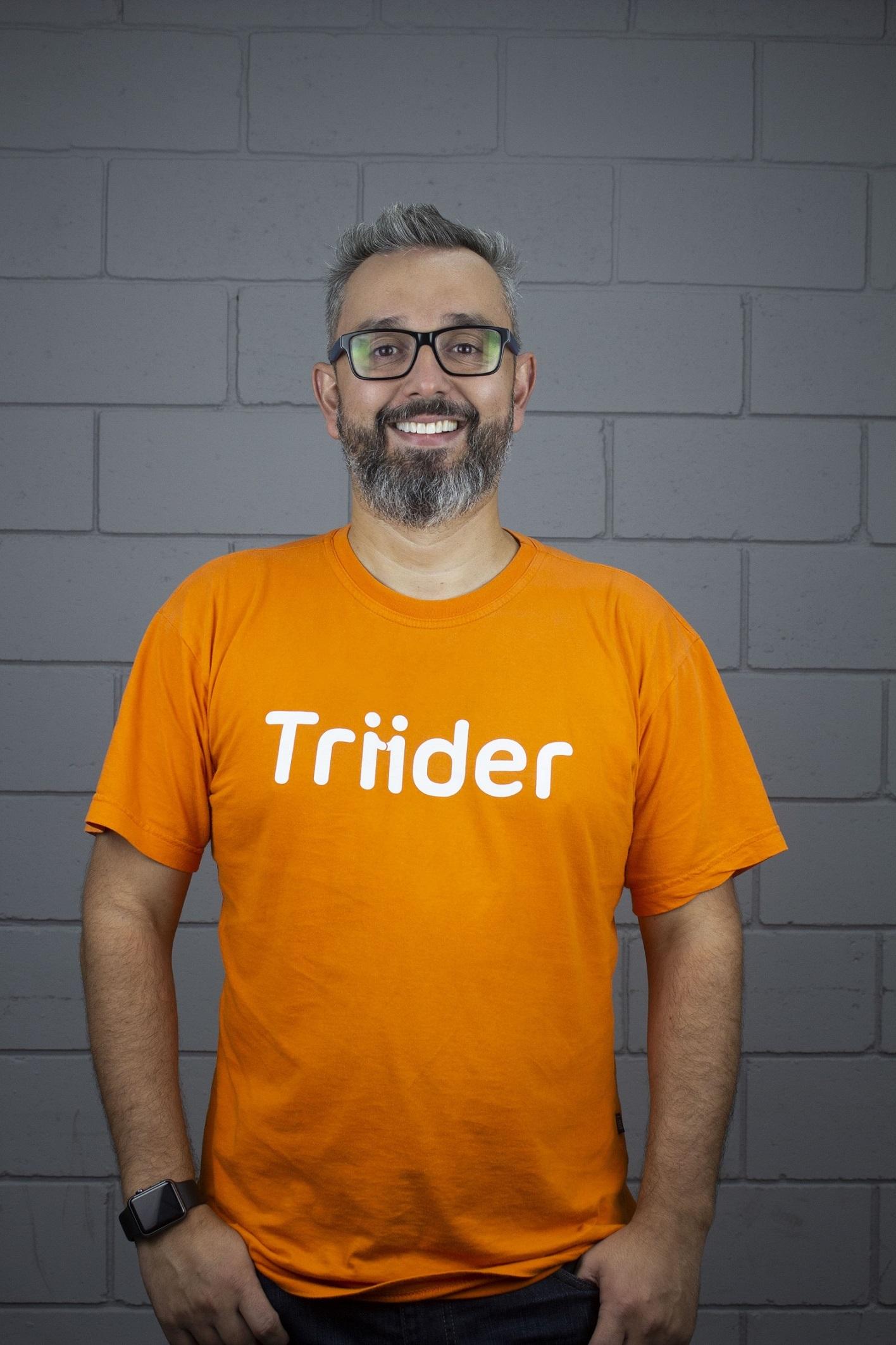 Juliano Murlick é o CEO da Triider. Foto: divulgação.