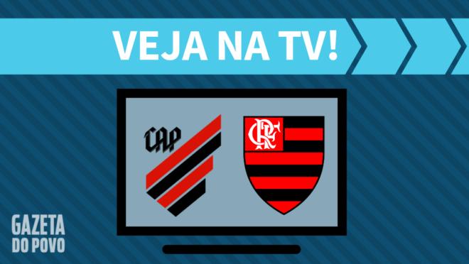Athletico x Flamengo: veja na TV