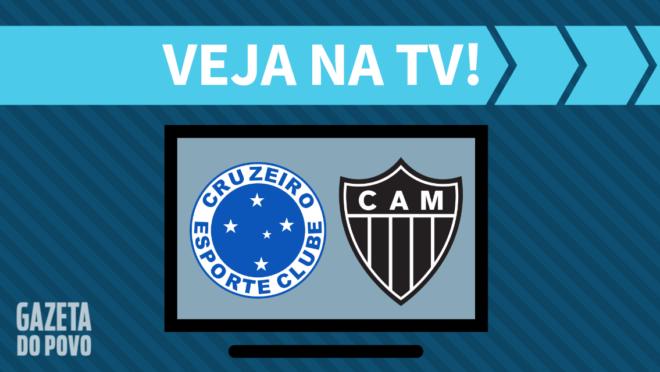Cruzeiro x Atlético-MG: veja na TV