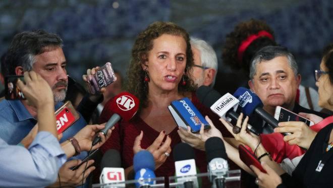Placar de votos da reforma da Previdência: deputada Jandira Feghali