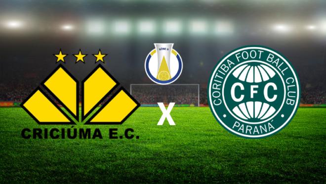 AO VIVO Criciúma x Coritiba: tudo sobre o jogo, como ver na TV e online