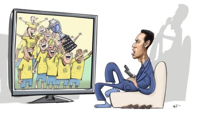 Muda de canal, Neymar, a partir de hoje o jogo é em Brasília