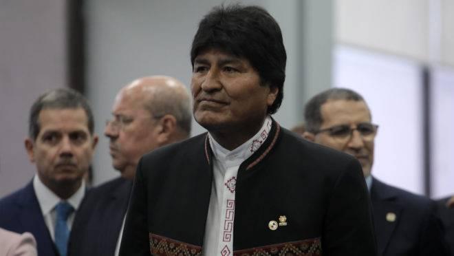 Presidente da Bolívia, Evo Morales