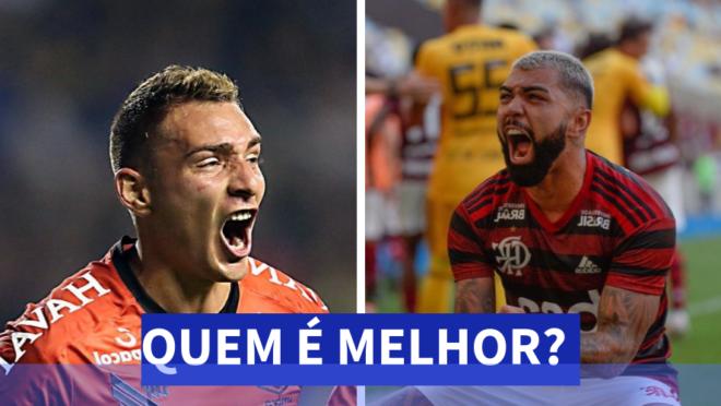 Marco Ruben ou Gabriel: quem é melhor?