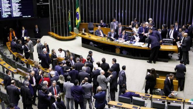 Sessão da Câmara dos Deputados em 09/07/2019