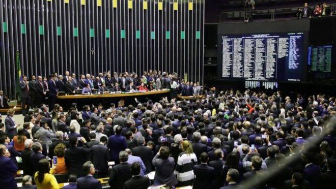 Plenário da Câmara aprova reforma da Previdência.