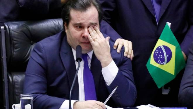 Rodrigo Maia na GloboNews