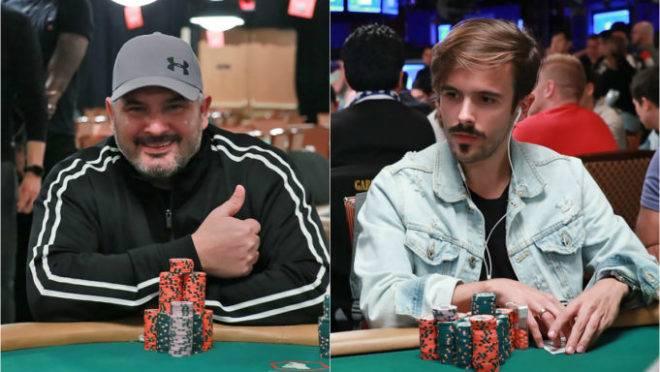 Ivonir e Yuri. Fotos: WSOP e Super Poker.