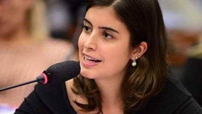 Deputada discursou em evento da Universidade de Nova York.