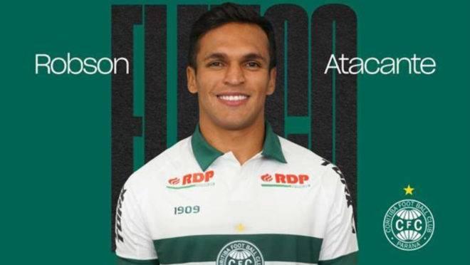 Robson chega para suprir uma necessidade de um atacante que atue pelos lados do campo no Coritiba