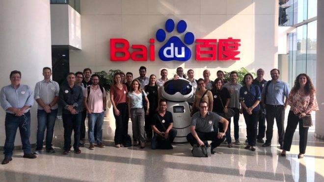 Grupo que participou da primeira missão do Cubo Itaú, em junho.