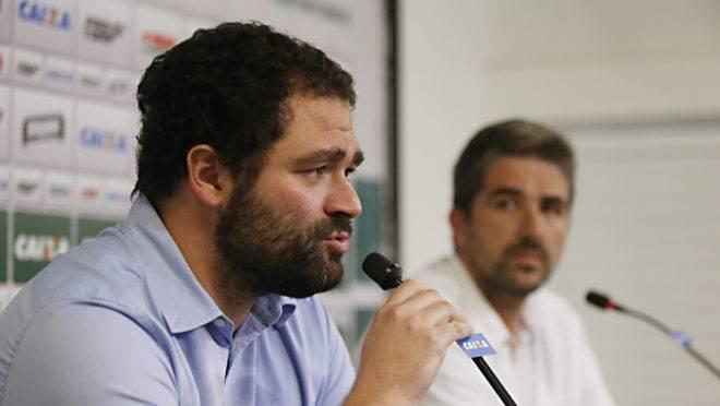 Presidente Samir Namur contratou o diretor de futebol Rodrigo Pastana nesta temporada