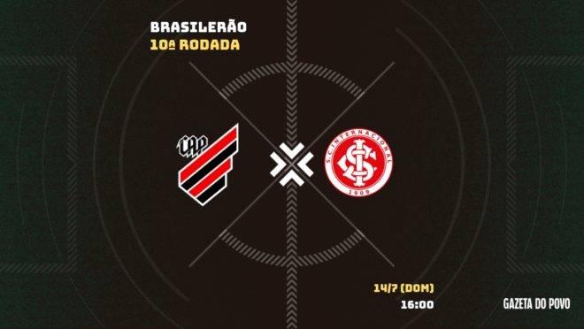 Athletico encara o Internacional pelo Brasileiro: saiba tudo sobre o jogo