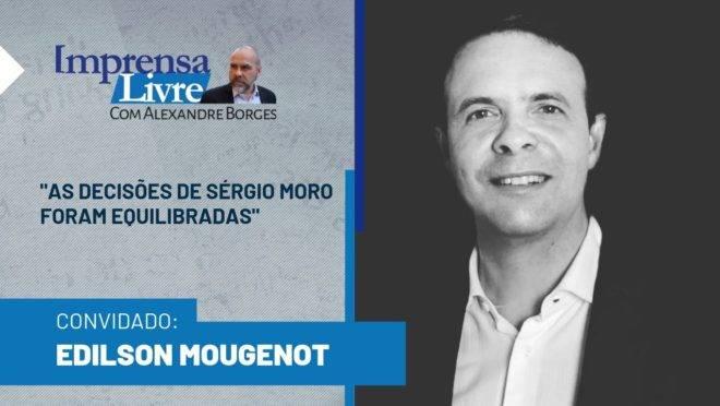 Procurador Edilson Mougenot é o entrevistado do Imprensa Livre com Alexandre Borges
