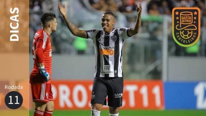 Dicas da 11ª rodada do Cartola FC 2019.