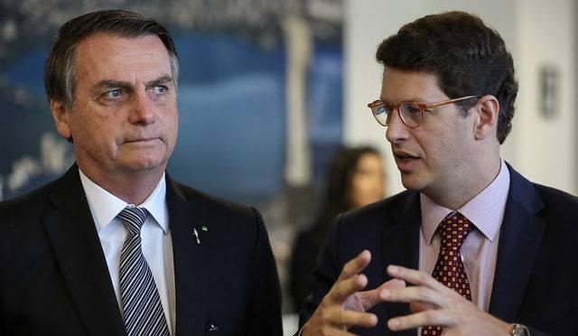 Bolsonaro e Ricardo Salles