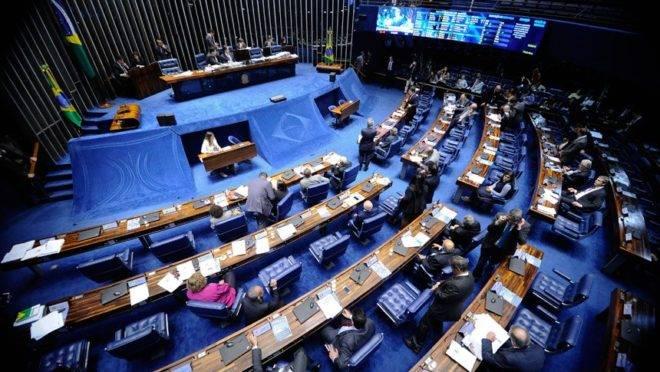 Fundo eleitoral mínimo foi aprovado pelo plenário do Senado.