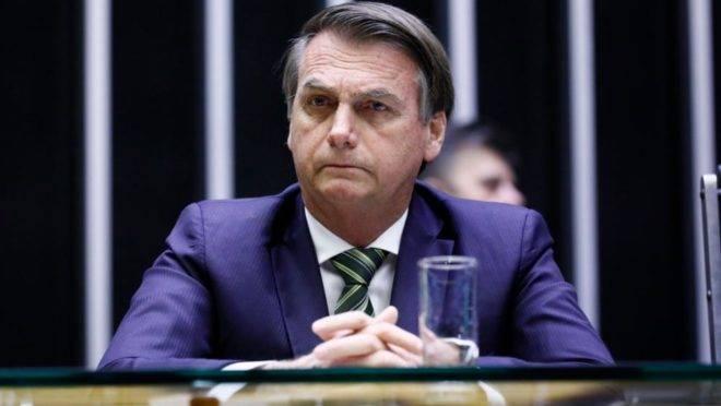 Jair Bolsonaro na Câmara
