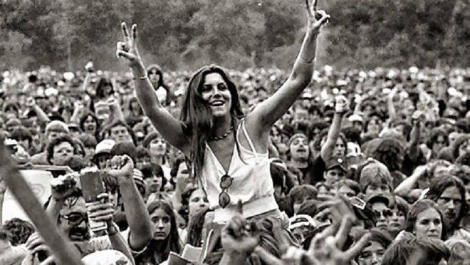 Eu não critiquei direito a balbúrdia do Woodstock