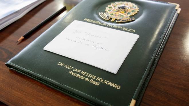 Gravação Clandestina: pasta presidencial