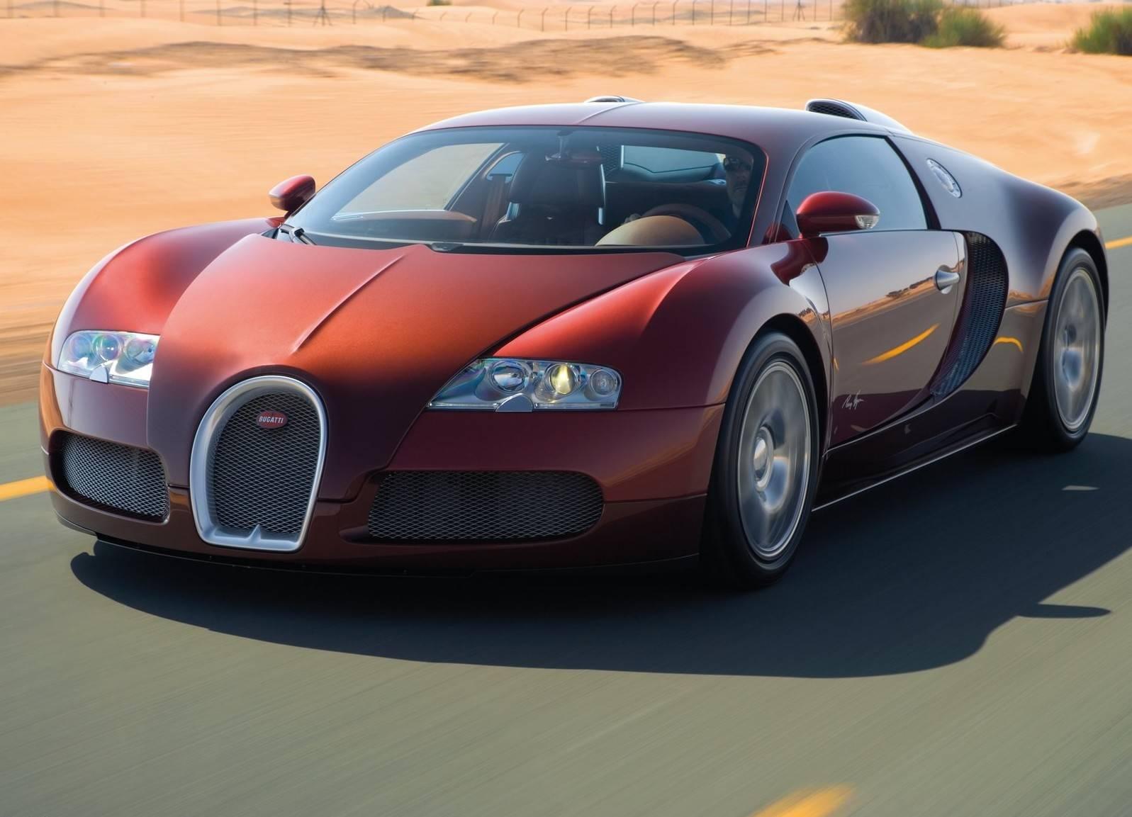 A versão Veyron 16-B do Bugatti foi produzida de 2005 a 2011. Foto: Bugatti/ Divulgação