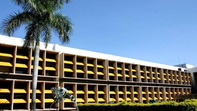 Reitoria da UFMT, em Cuiabá.
