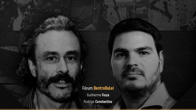 Guilherme Fiuza e Rodrigo Constantino, colunistas da Gazeta do Povo.