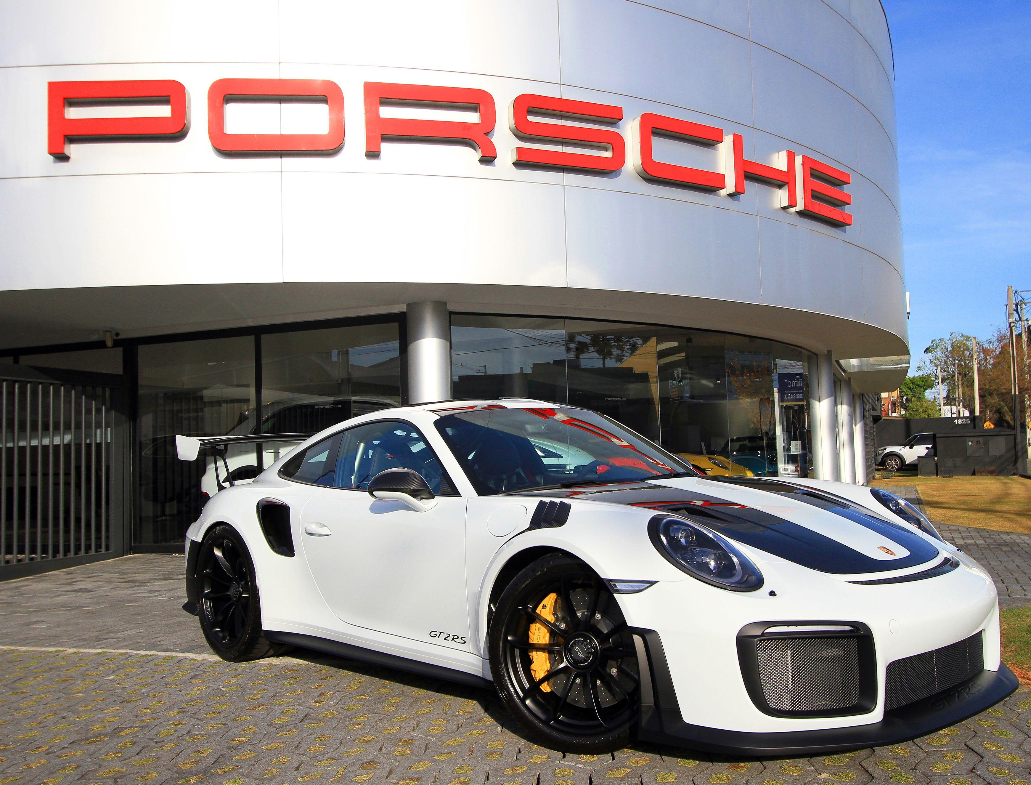Uma das Porsches foi encomenda na Porsche Center de Curitiba. Crédito: Rafael Ferreira/ Divulgação Porsche