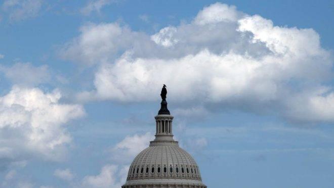 O Capitólio dos Estados Unidos, em Washington, sede do Congresso americano