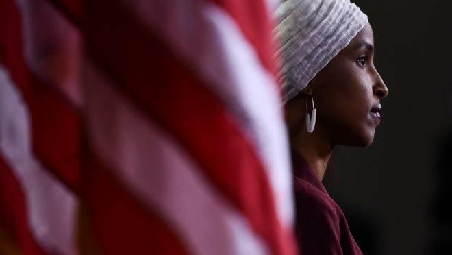 A congressista americana Ilhan Abdullahi Omar