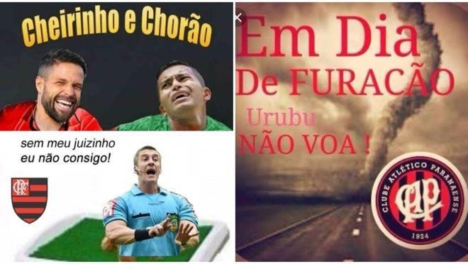 Memes contra o Flamengo