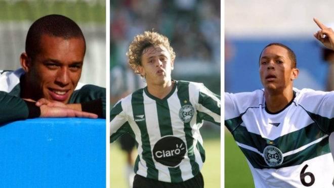 Zagueiro Miranda e laterais Rafinha e Adriano foram vendidos pelo Coritiba em 2005