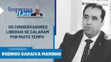 Rodrigo Saraiva Marinho é o entrevistado dessa semana do Imprensa Livre.