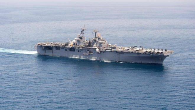 Foto de 15 de junho de 2016 do navio USS Boxer, da Marinha americana