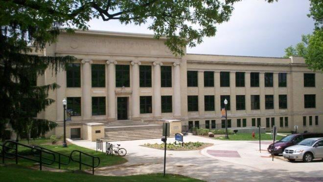 Franklin Hall, da Kent State University – EUA.